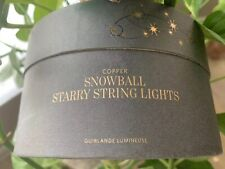 RESTORATION HARDWARE SNOWBALL STARRY STRING LIGHTS Copper Amber 10 FT Priority