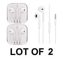 2X Genuine Original APPLE iPhone 4 5 5S 5C 6 6S Plus EarPods Earphones MD827LL/A