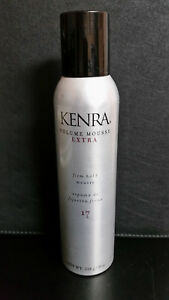 Kenra Volume Mousse Extra Firm Hold  #17 Mousse 8 oz. (226 g)