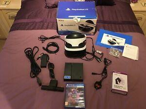 PlayStation 4 VR (PSVR)  Bundle Headset, Camera  & VR Worlds