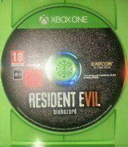 Resident Evil Biohazard Xbox One DISC AND CASE ONLY Aus Game