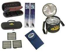 kit accessori carpfishing astuccio 6 terminali borsa termica stopper aghi boiles