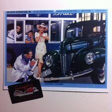 "/""1940 Ford Showroom/"" Illustration 8x10 Reprint Garage Decor"