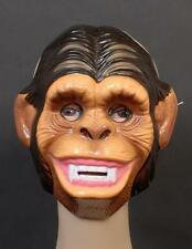 MONKEY MASK - Plastic Ape, Chimp, African jungle  animal,  Child Adult Mask