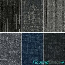 Heavy Duty Carpet Tiles 5m2 Box - Commercial Retail  Office Hard Wearing Tile