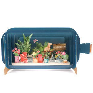 Message In A Bottle Plants Pop Up Mothers Day Greeting Card By Alljoy Cards