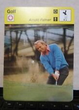 "1978 ARNOLD PALMER - EUROPEAN GOLF CARD - NRMT-MT - 6 1/4"" x 4 3/4"" - REPRINT"