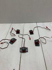 5 VEX  ROBOTICS  BUMPER SWITCHES / microcontroller cables.