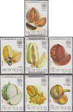 Nicaragua 2687-2693 (complète edition) neuf avec gomme originale 1986 fao