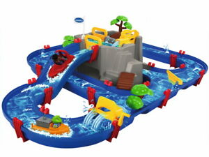 AquaPlay Outdoor Wasser Spielzeug Wasserbahn MountainLake Berg 8700001542