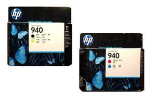2 x Druckkopf HP OfficeJet Pro 8000 8500 8500A Plus / Nr. 940 C4900A C4901A Head
