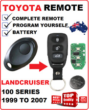 100 Series TOYOTA LANDCRUISER REMOTE KEYLESS ENTRY KEY FOB HZJ100 1999 TO 2007