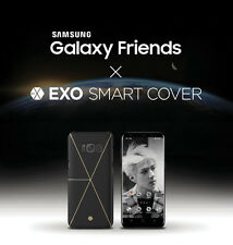 2017 Samsung Exo Collaboration Official Galaxy Friends S8 Smart Cover Black