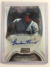 Verzamelkaarten: sport 2011 Bowman Draft Picks & Prospects Gold BDPP63 Brandon Nimmo New York Mets Card