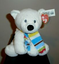 Ty Pluffies ~ Arctic the Polar Bear (Exclusive)(9 Inch) Mwmt ~ Stuffed Plush Toy