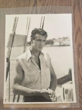 Gary Cooper The First Kiss 1928 Lost Film Vintage Portrait Photo
