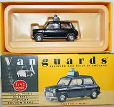 LLEDO VANGUARDS VA13002 AUSTIN 7 MINI die cast model Police car black body 1:43