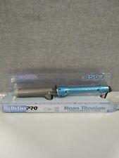 BaBylissPRO Nano Titanium Spring Curling Iron - Blue