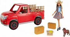 Barbie GFF52 Barbie Sweet Orchard Farm Doll with Vehicle and Accessories