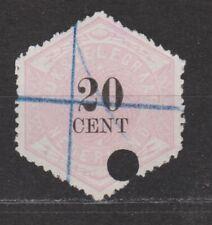 TG6 Telegram 6 used NVPH Nederland Netherlands Pays Bas 1877