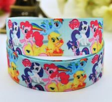 My Little Pony Character 25mm Grosgrain Ribbon for card Making or Bows. 1 Meter.