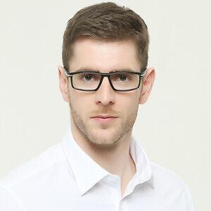New simple full frame reading glasses men dull black red transparent +1.0 to 4.0