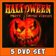 Best of Halloween Music Videos * 5 DVD Set * 115 Classics ! Pop Rock Hits