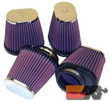 K&N Universal Clamp-On Air Filter For 2-1/8FLG,3X4B,2X3T,4L (4 PER BOX) RC-2814