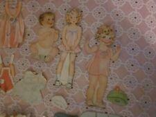 Antique Dot Betty Jane Paper Dolls 34 Pc
