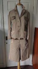 Whistles Suits 2 Pieces Jacket Skirt in Brown Size 16 *VGC*
