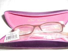 AUTHENTIC ITSY BETSY JOHNSON EYEGLASSES FRAMES HARD ROCK 2 ESPRESSO 48-15-135