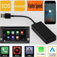 Wireless USB Carplay Dongle For Car Android iOS Player Head Unit Cable WiFi BT
