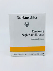 Dr Hauschka Renewing Night Conditioner 30 Ampules NEW Damged Box EXP 12/2021
