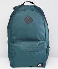 c2c3eb8f25e7fe Nike SB Icon Dark Green   Black Skateboarding Backpack (BA5727-328)