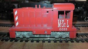 HO Diesel LIONEL Athearn M. St L #0055 HUSTLER SWITCHER / gear driven Used Video