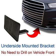 LICENSE PLATE BRACKET Tag Holder Mount Hidden Mounting Holes sHo-X-Aud-stO-n