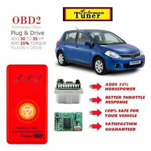 Performance for Nissan Versa OBD2 power plugin chip 1996-2019 programmer