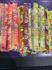 Famous TIKTOK Challenge 5 ct Fruit Juicy Jelly Strips Straws Sticks FREE SHIP