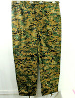 Tru Spec Adjustable Cargo Pants Size XL Digital Camouflage Button Fly Pockets