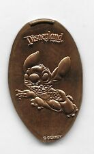 DISNEY STITCH RUNNING DISNEYLAND RESORT 2007 COPPER PRESSED PENNY RETIRED