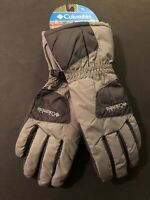 New Columbia Wom Six Rivers Gloves Therma Coil Size L Men's Gray  $50