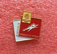 Pins ALBERTVILLE 92 Jeux Olympique PATINAGE DE VITESSE J.O JO OG O.G