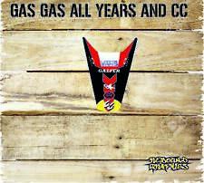 Gas gas ec Motocross Trasero Guardabarros Pegatinas Gráficos todos los años gas gas