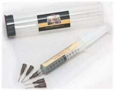 TekLine Tep256 Lead Solder Paste 63/37 Syringe Dispenser
