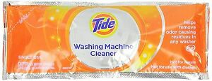 Tide Washing Machine Cleaner Odor Remover Fresh Scent 1 Single Pouch 3 or 5 Pack