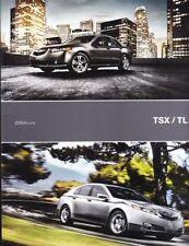2010  10 Acura  TSX & TL original sales  brochure MINT