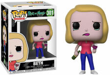 Funko POP! Rick and Morty S3 - Beth w/ Wine Glass #301 Vinyl Figure IN STOCK