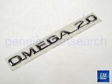 Genuine Vauxhall Omega B Brand New 2.0 Rear Nameplate 90509791