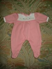American Girl Pleasant Co Bitty Baby tagged footed pajama sleeper for doll LN!!