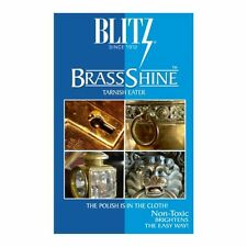 Blitz BrassShine Tarnish Eater Brass / Copper Polishing & Cleaning Care Cloth